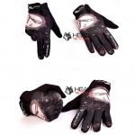 ถุงมือเต็มนิ้ว ทรง SPORTS : สีน้ำตาล Brown รหัส GT005