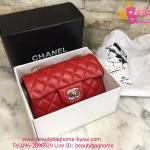 Chanel sac สีแดง งานTOP MIRRORเกาหลีระดับHiend