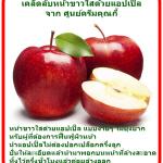 สุดยอด ผลไม้ ที่ทำให้หน้าขาวใสด้วยแอปเปิ้ล มาดูกัน