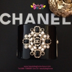 Chanel Bracelet สีดำ