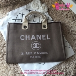 Chanel Jeans Shopping bag สีน้ำตาล งานHiend Original