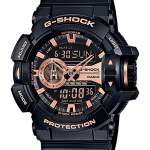 Casio G-Shock Limited Garish Black & Gold Series รุ่น GA-400GB-1A4