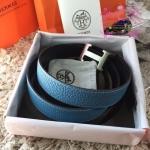 Hermes belt สีฟ้า งานHiend Original