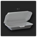 K-1(99) กล่องข้าวก้นเรียบ