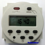 DC Timer -Weekly Programmable Time 12V