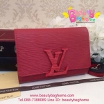 Louis vuitton LOUISE STRAP PM สีแดง