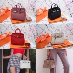 กระเป๋า Fashion นำเข้าเกาหลี แบบเหมือนของ Hermes birkin25