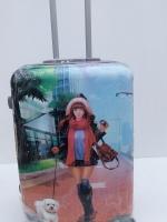 กระเป๋าเดินทางล้อลาก 4ล้อ ขนาด 20นิ้ว วัสดุ PC อย่างดี