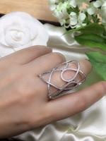 แหวนเพชร CZ แท้