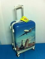 กระเป๋าเดินทาง 4 ล้อ ขนาด 24 นิ้ว ลายเครื่องบินลำใหญ่
