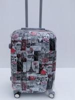 กระเป๋าเดินทาง ขนาด 20นิ้ว ลายตู้ไปรษณีย์ เนื้อ PC แข็งแรงทนทาน