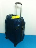 กระเป๋าเดินทางไฟเบอร์ รุ่นรถถังสีกรมท่า ขนาด 24 นิ้ว