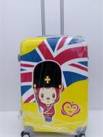 กระเป๋าเดินทาง ขนาด 24 นิ้ว ลายลิงสีเหลือง