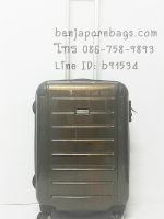 กระเป๋าเดินทางแบรนด์แท้ Ricardo Roxbury สีทอง 21 นิ้ว จากอเมริการับประกัน 10 ปี