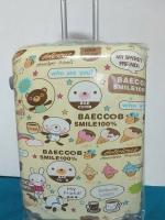 กระเป๋าเดินทางพีซี 28 นิ้ว ลายหมีไอติมน่ารัก