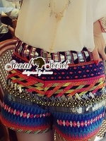 Seoul Secret Say's... Mixy Bohe Color Pants