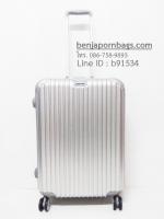กระเป๋าเดินทางขอบอลูมิเนียม ไซส์ 24 นิ้ว เกรดพรีเมี่ยม สีบรอนซ์