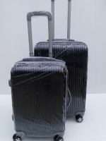 กระเป๋าเดินทาง 24 นิ้ว สีดำ ลายตรง