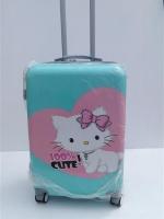 กระเป๋าเดินทาง ลายแมว ขนาด 24 นิ้ว