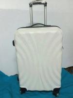 กระเป๋าเดินทางไฟเบอร์ 20 นิ้ว ลายพัดสีขาว ราคาพิเศษ