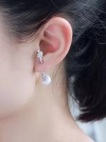 APM Earring ต่างหู APM มุก
