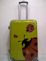 กระเป๋าเดินทางล้อลาก ขนาด 24 นิ้ว ลายเต่าทองเหลือง