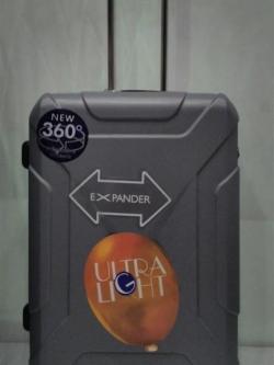 กระเป๋าเดินทางล้อลากไฟเบอร์ ขนาด 24 นิ้ว H1183 HIPOLO