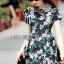 Lady Ribbon's Made Lady Taylor Little White Daisy Printed Dolce & Gabbana Mini Dress thumbnail 4