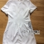 Lady Ribbon's Made Lady Carrie Smart Minimal Ribbon Embroidered White Dress thumbnail 6