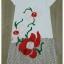 Sweet Bunny Present... See-Through Floral Long dress สีขาว thumbnail 4