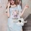 Seoul Secret Say's... Pastel Vintage Tiggy Softly Denim Dress thumbnail 1