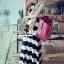 "Seoul Secret Say's... ""Chic Stripy Maxi Knit"" thumbnail 4"
