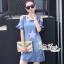 Dress jeans print stars dress Korea by Aris Code thumbnail 1