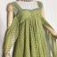 vintage dress : เดรสวินเทจยาวกรุยกราย ด้านหลังเก๋มากๆ สีโทนเขียวเหลือง ผ้าชีฟองเนื้อดี thumbnail 3