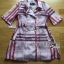 Lady Ribbon's Made Lady Susan Double-Breast Checked Pink Trench Coat thumbnail 4