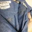 vintage dress : เดรสยาวสียีนส์ แต่งเพชรเป็นลูกเล่น ใช้วิธีการตอกนะคะ ไม่ใช่ติดกาว ดีเทลของจริงสวยมากค่ะ กระดุมเพรช มีกระเป๋าข้าง ตัวนี้รับรองไม่ผิดหวังค่ะ thumbnail 5