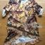 Lady Ribbon's Made Lady Georgina Sexy Mysterious Bird Printed Geometry Hems with Frills Dress โทนสีเหลือง thumbnail 5