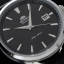 Orient Automatic Black Dial Silver Tone Leather Strap FER27006B thumbnail 2