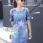 Dress jeans print stars dress Korea by Aris Code thumbnail 2