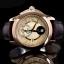 นาฬิกา CITIZEN Eco - Drive Moon Phase Sapphire Rose Gold สายหนัง BU0003-13P thumbnail 3