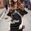 Seoul Secret Say's... Blacky Tuffy Chic Dress thumbnail 2