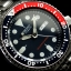 นาฬิกา Seiko Automatic Pepsi Diver Watch 200m SKX009K Oyster Strap thumbnail 6