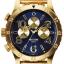 นาฬิกา NIXON Men Chronograph Chronograph Blue Gold Dails Watch A4861922 48-20 thumbnail 1