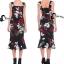 Cliona made' DG Roses Prininting Dress thumbnail 1