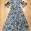 Cliona Made' Provence Floral Line Long Dress thumbnail 9