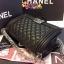 กระเป๋า Chanel Boy 10นิ้ว สีดำ thumbnail 5