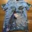 Lady Ribbon's Made Lady Alison Elegant Artful Peacock Embroidered Dress สีฟ่้า thumbnail 5