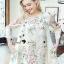 Seoul Secret Say's... Vintage Blossom Color Dress thumbnail 2