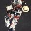 Korea Design By Lavida fashionable flower & leaf printed v neck top long pants set thumbnail 4