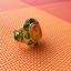 แหวนถมทอง ลายสุโขทัย ลงยา ประดับพลอย ลายดอกไม้ thumbnail 6